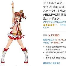 AQUAMARINE THE IDOLM@STER MILLION LIVE 春日未来 MIRAI KASUGA MILLION SPARK 1/8 PVC