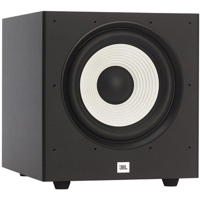 美國 JBL 家庭劇院音響 Stage A100P 超重低音喇叭 10吋 低音震撼飽滿 超高CP值! 黑色~公司貨保固