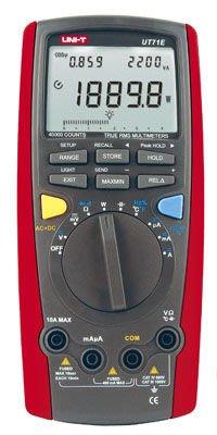 [捷克科技] UNI-T 優利德 UT 71E 工程級數位瓦特萬用電錶 40000 counts 雙顯示 專業電錶儀錶