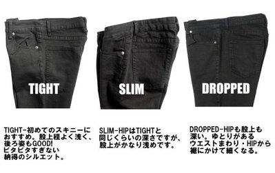 CHEAP MONDAY Dropped New Black 瑞典設計極簡黑窄 牛仔褲 AB錐形上寬下窄 小尺寸現貨25