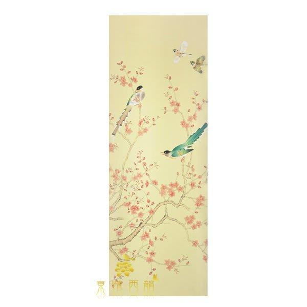 【芮洛蔓 La Romance】手繪絲綢壁紙 ZW01-012 / 壁飾 / 畫飾 / 牆紙