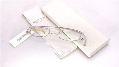 【本閣】Paper glass PG002 日本光學眼鏡 鯖江手工眼鏡 純鈦折疊小框 長輩父母老花 江口洋介 蔡詩芸