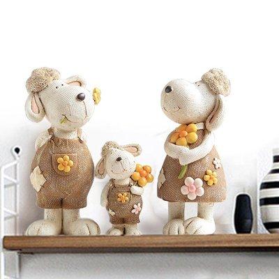 擺飾品 歐式生肖創意客廳家居飾品 家裝裝飾品家里電視櫃擺件三羊