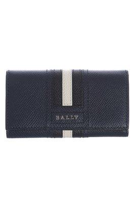 ╭☆包媽子店☆ Bally 男士 藍色&黑色 鑰匙包 6218045/6218043 TALTOS