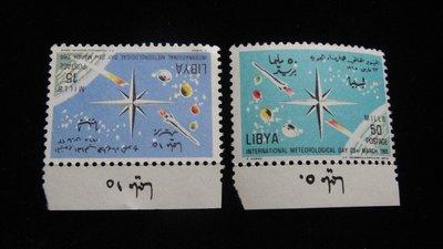 【大三元】歐洲郵票- 利比亞1965年-新票2枚-原膠