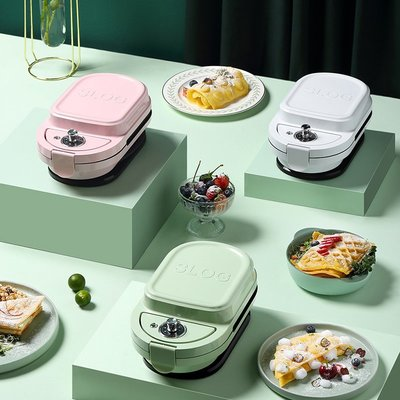 麵包機SLOG 多功能三明治機 可定時早餐機 輕食機 華夫餅機 烤面包機吐司機