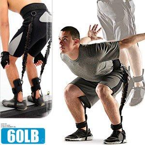 【推薦+】60磅LATEX乳膠彈跳訓練帶(綁腿彈力繩+舉重腰帶)C109-1551彈力帶拉力繩拉力帶拉力器.擴胸器