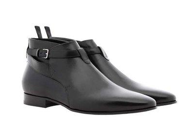 韓國 GD 亮皮 尖頭皮鞋 聖羅蘭 高品質 真皮 皮鞋 高統 皮鞋 鞋跟 馬丁 皮鞋 SLP