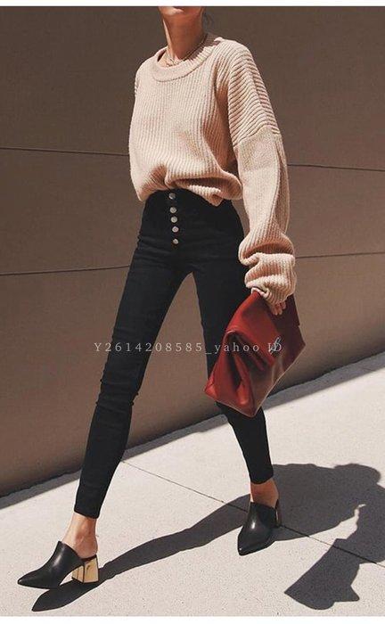 【代購】極美 J Brand Lillie skinny 高腰 排扣 彈力 牛仔褲