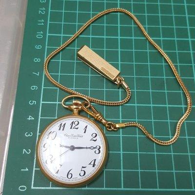 日本帶回 CITIZEN 草寫 日本限定 懷錶 大錶徑 機械錶 非 Rolex SEIKO OMEGA ORIENT ck GUCCI LV TELUX iwc