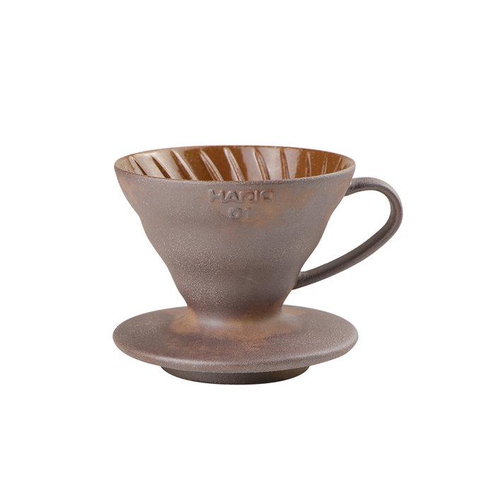 《咖啡逗》HARIO X 陶作坊 2020 聯名款 V60老岩泥 01 濾杯含礦石即石英土坯 (P710529088)