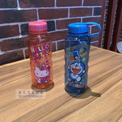 【便利公仔】含運 可愛動漫哆啦A夢叮當貓機器貓 KT貓便攜冷水杯果汁杯水壺水瓶