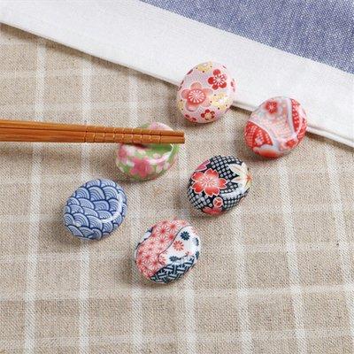 日式筷架~6顆/組