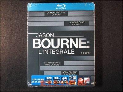 [藍光BD] - 神鬼認證 1 ~ 4 套裝 The Complete Bourne 四碟限定鐵盒版