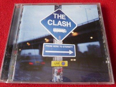 ⊙西洋原版⊙The Clash:From Here to Eternity/現場集/英國版