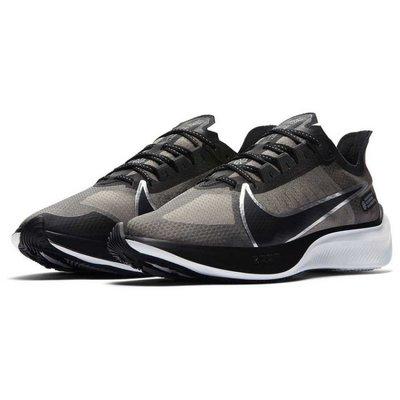 NIKE ZOOM GRAVITY 黑白銀線 透明 輕量 慢跑鞋 馬拉松 4% BQ3202-001