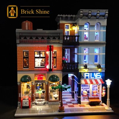 現貨 樂高  LEGO 10246 偵探社街景  CREATOR 系列  全新未拆  BS燈組 原廠貨