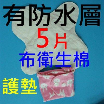 5片現貨18cm有防水層天然棉純棉布衛生棉/日用量少型/護墊/經期前後/漏尿/透氣Y306pad14_pack5
