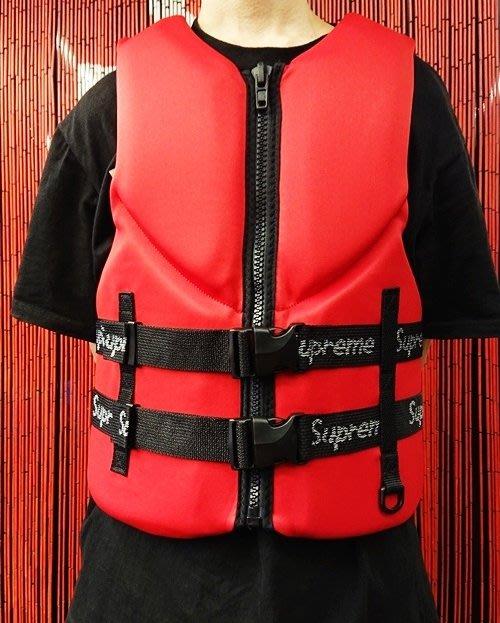 玉米潮流本舖 SUPREME O'Brien Life Vest 紅色 救生衣 18WEEK20