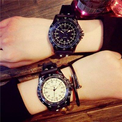 鐘錶bigbang手表款式男士潮牌歐美運動學生個性新款原宿大盤表女時尚