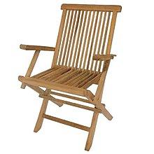 【588團購網】柚木折合扶手椅 餐椅 扶手餐椅 柚木椅 柚木餐椅 戶外椅 休閒椅 戶外休閒桌椅