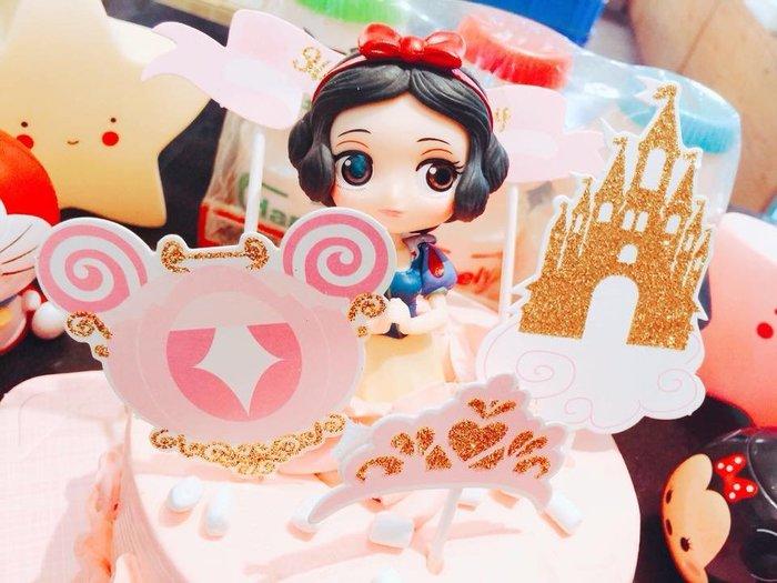 ❤ 歡迎自取 ❤ 雪屋麵包坊 ❥ 公仔的家 ❥ 白雪公主 ❥ 6 吋生日蛋糕 ❥ 送彩色蠟燭唷