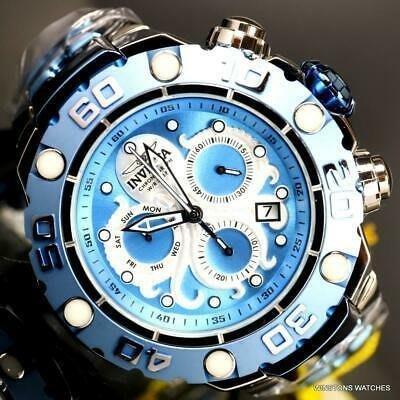 《大男人》Invicta #9228 EXCURSION 瑞士大錶徑52MM個性潛水錶,稀有章魚圖騰,非常漂亮值得收藏
