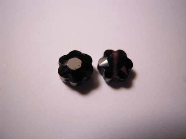 ※布箱子※ 串珠材料手作配件~寶石級花形鋯石(B975)