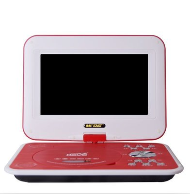 SAST/先科 SA-198 14吋行動dvd便攜式高清DVD播放器 放影機evd 帶小電視影碟機 升級版
