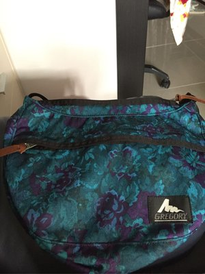 Gregory bag size S藍花