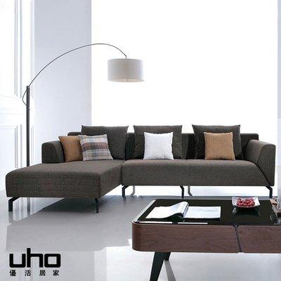 沙發【UHO】隨性L型沙發 免運費 H...