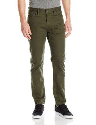 OBEY New Threat Twill Pant III 休閒長褲 合身彈性 五口袋 36腰 軍綠色 保證正品