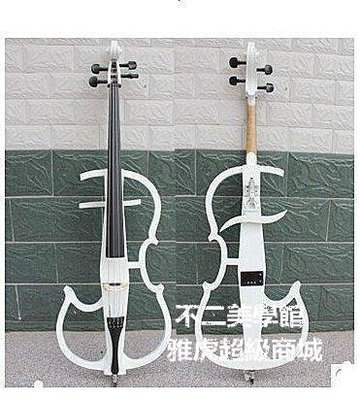 【格倫雅】^eifetz/海菲茲FC1800手工制作實木白色電子大提琴樂器演奏琴舞27