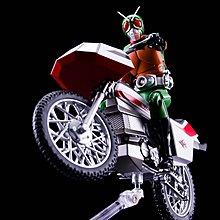 全新 魂 限定 SHF 昭和 幪面超人 飛天 Sky Rider + 電單車 Skyturbo Set [共一盒] 連 專用 台座 啡盒未開