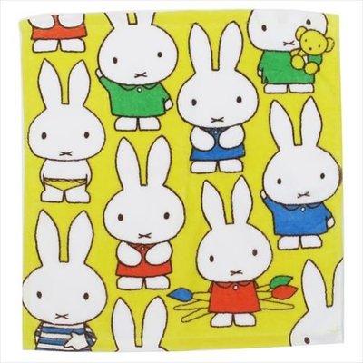 (現貨)約24x36cm 全棉 毛巾 洗面巾 Miffy 米菲兔 日本直送 全新品