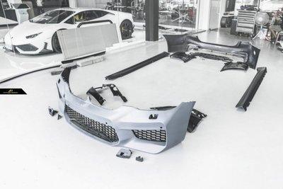 【台中政銓】BMW G30 改 F90 M5式樣 全車大包空力套件 前保+側裙+後保+後下巴 原廠PP材質