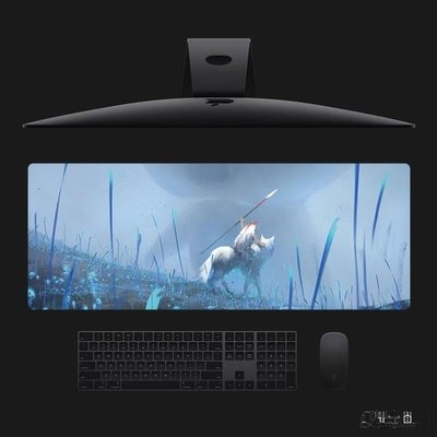 可愛 治愈系 龍貓 超大滑鼠墊 幽靈公主宮崎駿動漫 電腦辦公桌墊