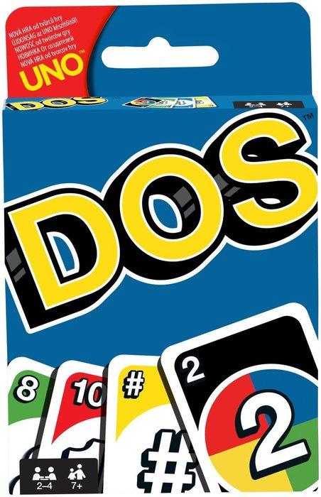 骰子人桌遊-(特價)DOS遊戲卡DOS Card Game(繁)顏色.數字.加法