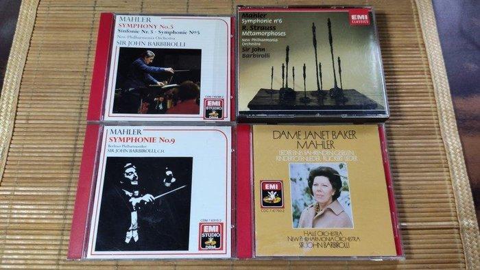 barbirolli mahler Symphony 5.6.9. kindertotenlieder 5CD EMI