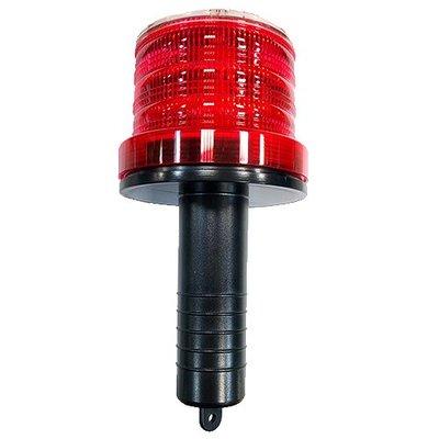 【原艾國際】 CN-JN308-2S 握把式太陽能警示燈 (警告/哈雷燈/路障)
