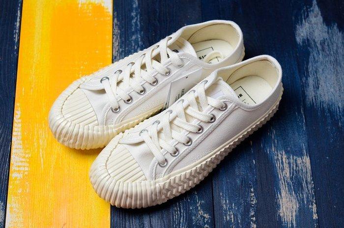 Excelsior Bolt 餅乾鞋 韓國 奶油白 低幫復古生膠 帆布鞋 男女休閒板鞋