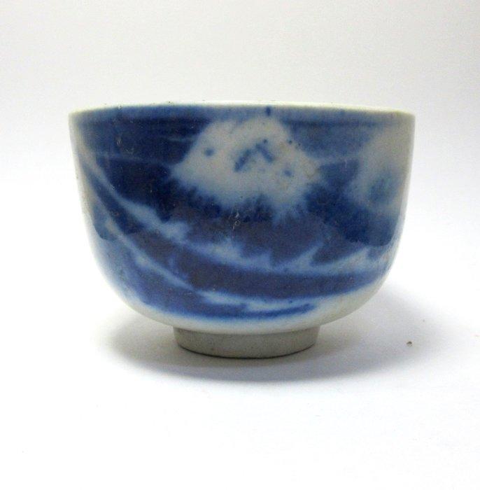 出賣家藏--日據富士山茶杯
