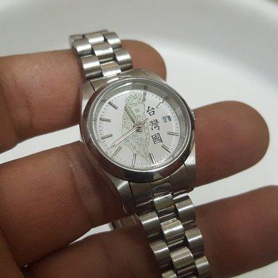 <8888 尋寶屋>優質錶 愛台灣 女錶 行走中 非 Rolex 機械錶 ORIENT OMEGA 三眼錶 A5
