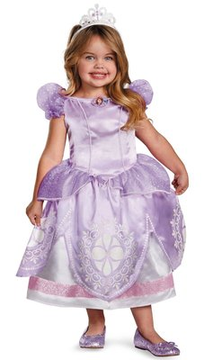 蘇菲亞小公主 Princess Sofia the First Deluxe Toddler/Child Costume