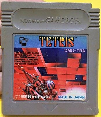 幸運小兔 GB遊戲 GB 魔術方塊 TETRIS 俄羅斯方塊 外觀有傷 任天堂 GameBoy GBC、GBA 適用庫