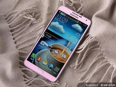 @@4G手機便宜賣@@保存極佳粉紅三星5.7吋螢幕Samsung Galaxy Note3 16G全頻..亞太4g可用