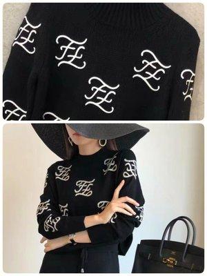 Fendi 黑色毛衣