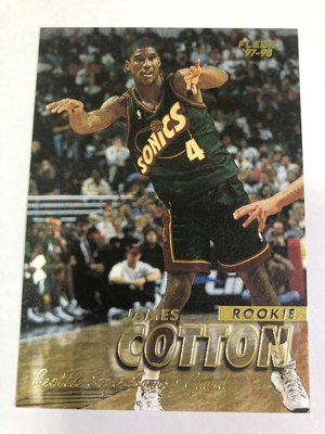James Cotton #210 RC 1997-98 Fleer 新人卡