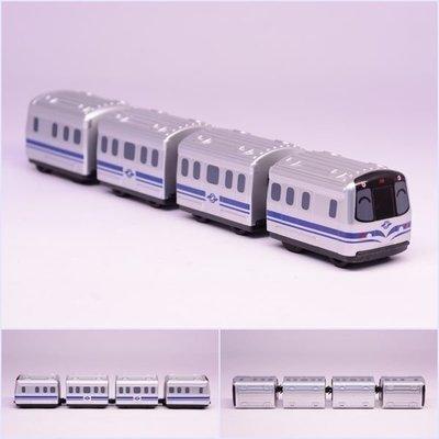 【喵喵模型坊】TOUCH RAIL 鐵支路 Q版 台北捷運C381型電聯車 小列車 (QV051T1)