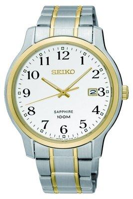 可議價.「1958 鐘錶城」SEIKO精工錶 CS系列 時尚石英 男腕錶SGEH68P1-/41mm